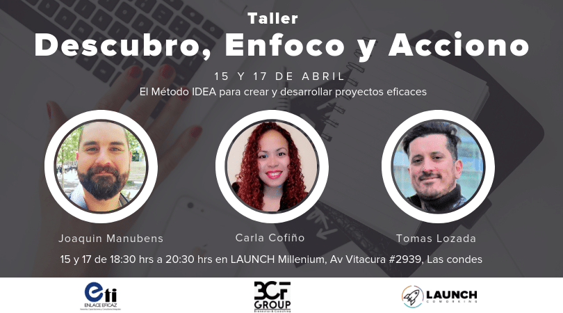 Taller: Descubro, Enfoco y Acciono
