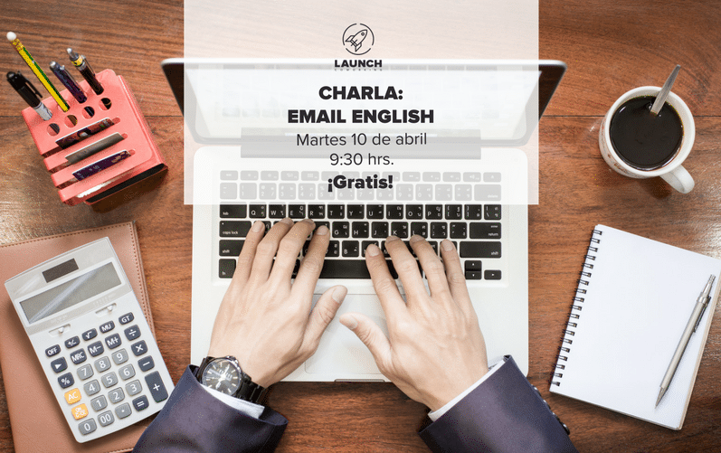 Charla: Email English