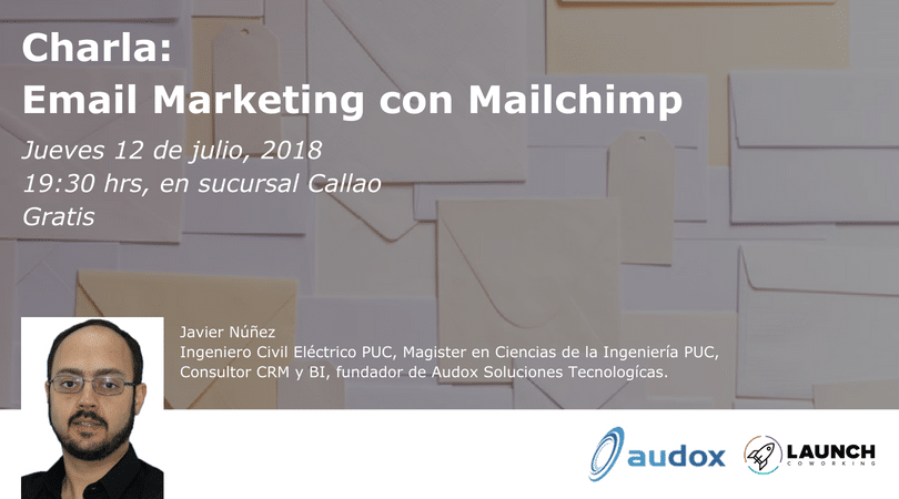 Charla: Email Marketing con Mailchimp