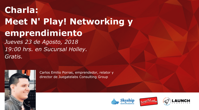 Evento: Meet N' Play! Networking y emprendimiento