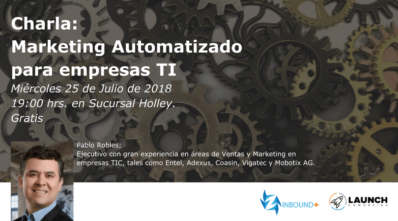 Charla: Marketing Automatizado para empresas TI