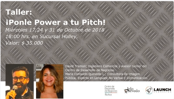 Taller: Ponle power a tu pitch!