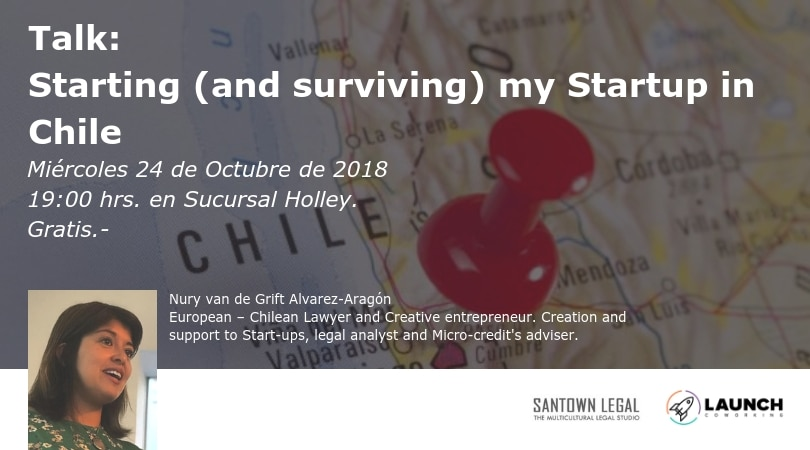 Talk: Starting (and surviving) my Startup in Chile