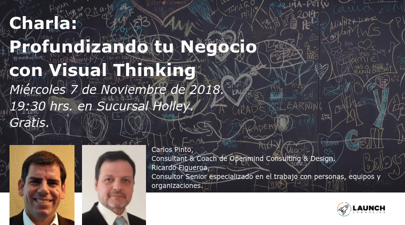Charla: Profundizando tu Negocio con Visual Thinking