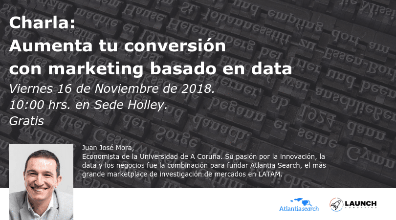 Charla: Aumenta tu conversión con marketing basado en data