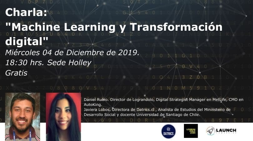 Charla: Machine Learning y Transformación Digital