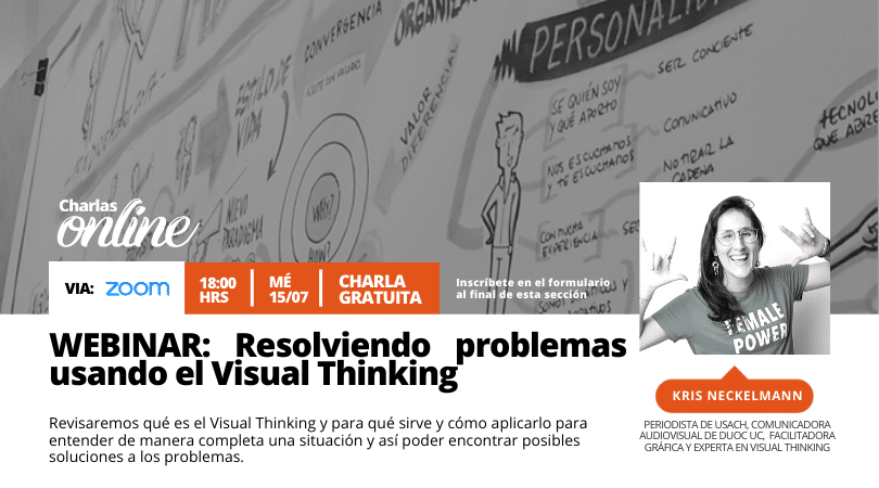 WEBINAR: Resolviendo problemas usando el Visual Thinking